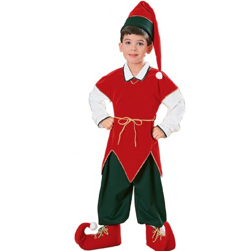 Velvet Elf Child Costume - Kid's Costumes