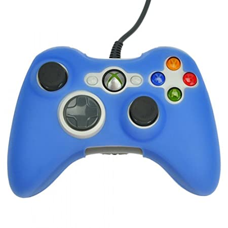 HDE® Protective Silicone Skin fits Xbox 360 Controller - Periwinkle Blue