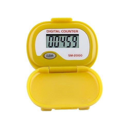 Cheap SM-2000 Step Pedometer (color: YELLOW) (B001U8J7ZA)