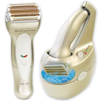 Remington WDF-7000 Smooth and Silky Womens Foil Shaver with Clean and Charge System