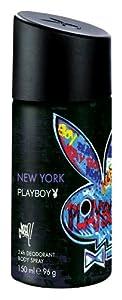Playboy New York Deo Body Spray, 150 ml, 3er Pack (3 x 150 ml)