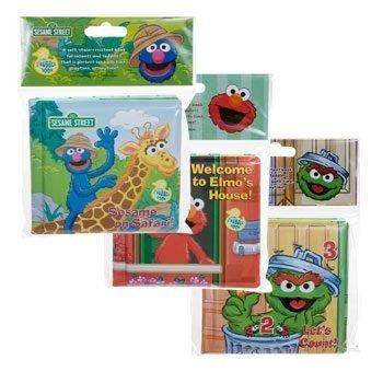 Sesame Street Bath Books- Set of 3 - 1
