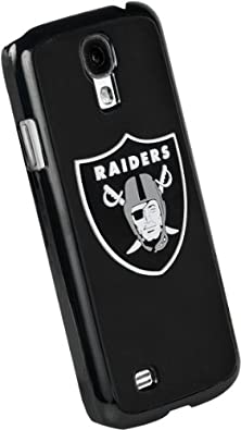 buy Forever Collectibles Oakland Raiders Team Logo (Black Borders) Hard Snap-On Samsung Galaxy S4 Case