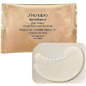 Shiseido Benefiance Pure Retinol Instant Treatment Exe Mask unisex, Maske 12 x 1,1 ml, 1er Pack (1 x 13 ml)