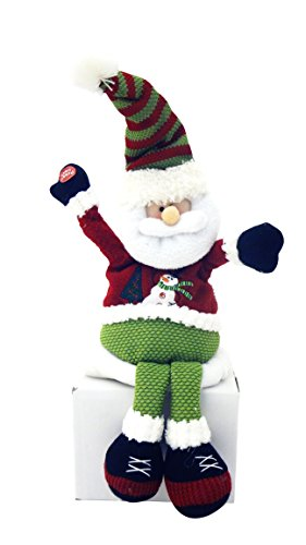 best-fun-cute-christmas-santa-novelty-singing-plush-stuffed-animal-cubicle-office-decor-fun-silly-pr