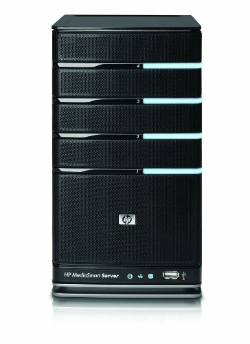 HP MediaSmart Server EX490 (1 TB, Intel Celeron 2.2 GHz, 2GB DDR2 DRAM)