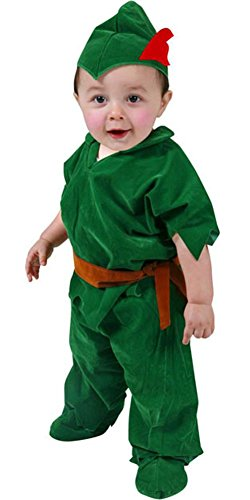 [Deluxe Toddler Peter Pan Costume (Size:4T)] (Child Deluxe Peter Pan Costumes)