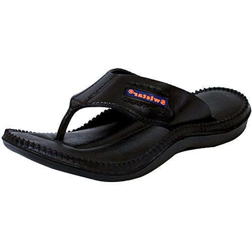 Aircum Men's slipper Black  available at amazon for Rs.133