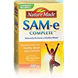 Nature Made� SAM-e 200 mg - 90 Enteric Coated Tablets ~ Nature Made