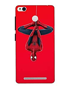 Snazzy Spider Man Printed RedMI Hard Back Cover For Xiaomi Redmi 3S