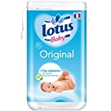Lotus Baby Original Cotons Carrés Bi-Faces x 75 Lot de 10