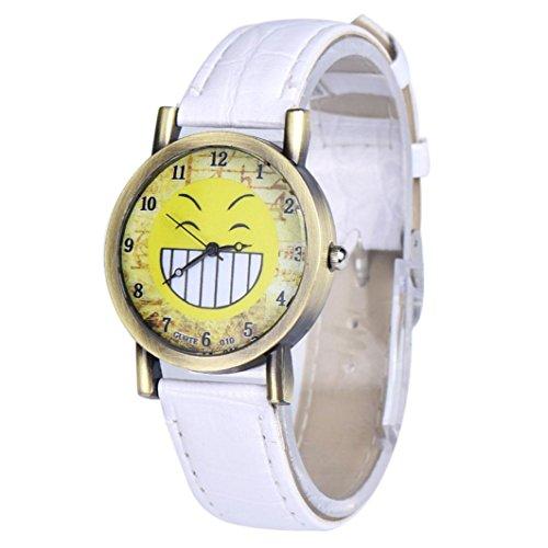 Emoji-Watch-Creazy-Fashion-Lover-Leather-Quartz-Analog-Wrist-Watch-45WH