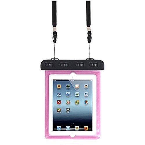 TaoTech 防水ケース iPad Air 2 iPad 2 3 4 など タブレット 用 10インチ まで 対応 防水保護 等級 IPX8 取得 ストラップ付