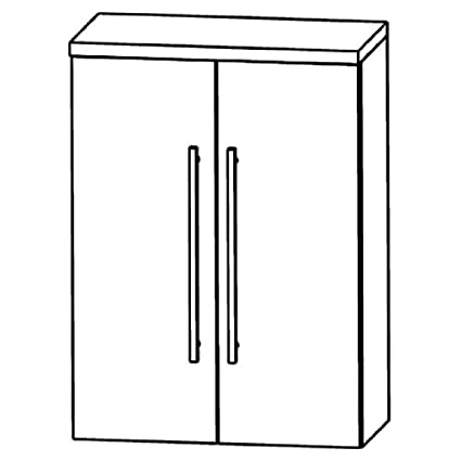 In Starline Highboard (HBA516 A7) Bathroom, 60 cm