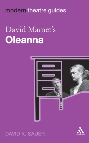 essays on oleanna by david mamet Oleanna essay by lauren bradshaw and today's david mamet thesis or dissertation on oleanna topics at our professional custom essay writing service which.