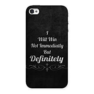Ajay Enterprises Will Win Back Case Cover for iPhone 4 4s