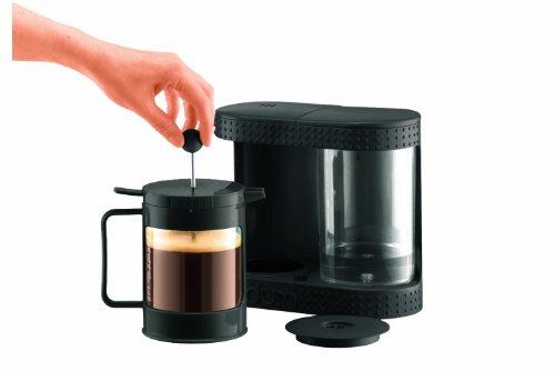 French Press Automatic Coffee Maker : Get Cheap Bodum Bistro Electric French Press Coffee Maker, 4-Cup, 0.5 L, 17 Fl. Oz, Black ~ 4 ...