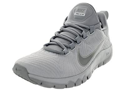 Nike Men's Free Trainer 5.0 Pr Platinum/Rflct Slvr/Wlf Gry Training Shoe 8 Men US