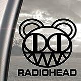 RADIOHEAD Black Decal SCARY BEAR KID A ALBUM Car Sticker