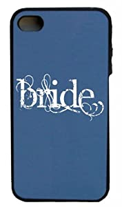 Mashed Cases – Bride (White) – Black & Indigo Blue Rubber Case for Apple iPhone 5