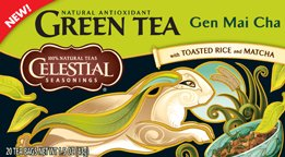Celestial Seasonings Gen Mai Cha Tea Bags, 20 Ct