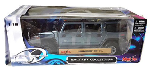 Maisto - Hummer H2 SUV - 1:18 Scale (Hummer H2 1 18 compare prices)