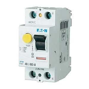 Disjoncteur FI MOELLER 2 POLES 25A-Equipement tableau électrique