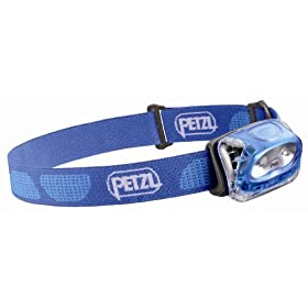 Petzl E91 PE Tikkina 2 Headlamp, Electric Blue