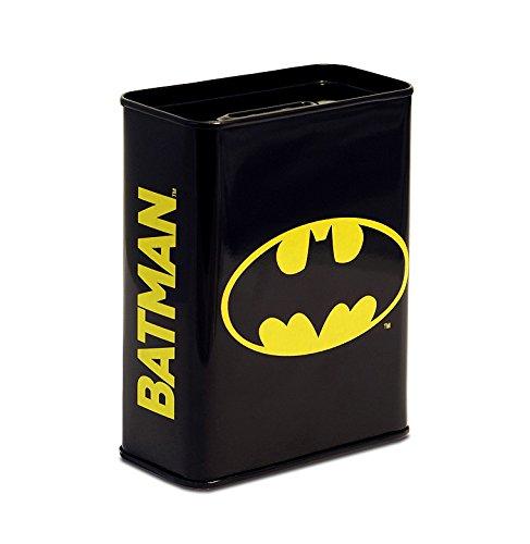 DC Comics - Batman Logo Salvadanaio - Piggy Bank - Design originale concesso su licenza - Logoshirt