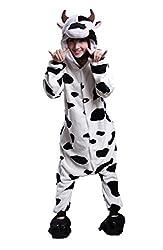 Tonwhar Unisex Adult Animals Cartoon Pajamas Cosplay Costume Lounge Wear Homewear