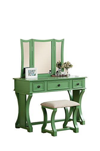 Vanity Set With Stool Shopswell
