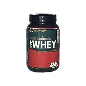 Optimum Nutrition Gold Standard 100% Whey Protein Powder Drink Mix Double Rich Chocolate 908g
