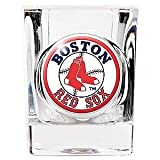 Boston Red Sox 2 ounce Square Shot Glass