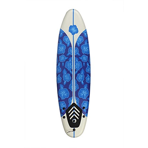 North Gear 6ft Foam Surfboard (Blue/White)