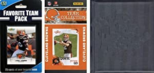 NFL Cleveland Browns Licensed 2010 Score Team Set and Favorite Player Trading Card... by C&I Collectables