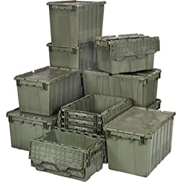 Quantum Storage Heavy Duty Attached Top Container - 20in. x 11 1/2in. x 7 1/2in. Size