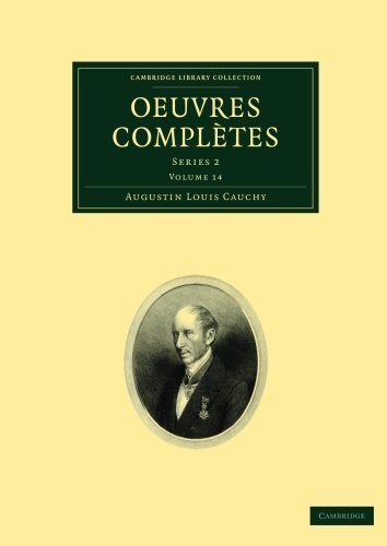Oeuvres complètes: Series 2 (Cambridge Library Collection - Mathematics)
