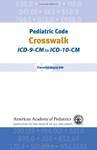 Pediatric Code Crosswalk: Icd-9-Cm To Icd-10-Cm (Coding)