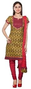 Trishaa Womens Indian Ethnic Kurta Tunic with Churidar