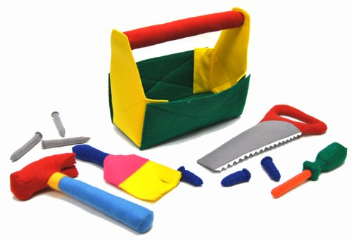 Handmade Tool Toy Pretend & Play Construction Kit - 1