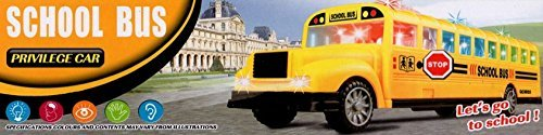 Toy School Bus with Lights & Sound Very Fun, Battery Operated