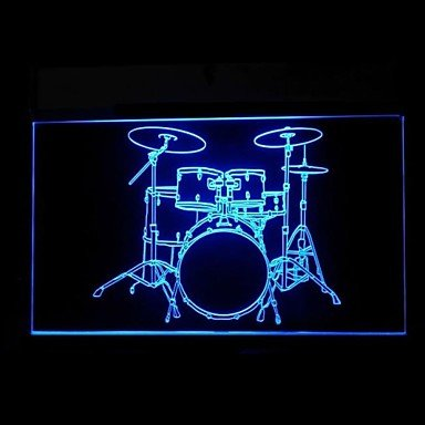 Electronic Drums Advertising Led Light Sign