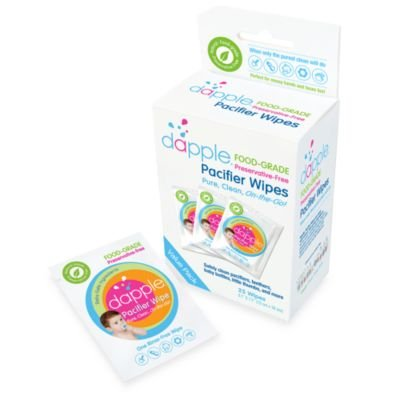 Dapple 25-Count Pacifier Wipes