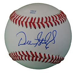Drew Stubbs Autographed ROLB Baseball, Cleveland Indians, Cincinnati Reds, Proof Photo