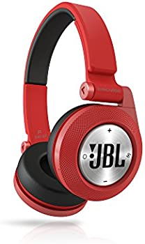 JBL E40BTRED On-Ear 3.5mm Wireless Bluetooth Headphones