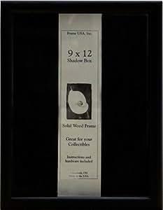 9x12 Shadow Box, Elite Series (Black)