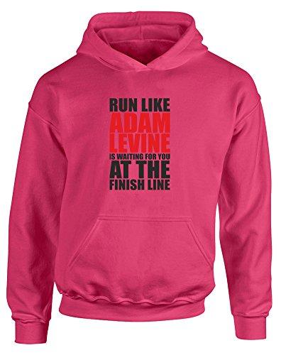 run-like-adam-levine-is-waiting-kids-printed-hoodie-hot-pink-black-red-12-13-years