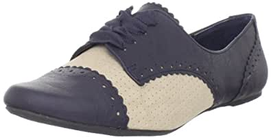Not Rated Women's Jazzibel 2 Oxford,Navy,6 M US
