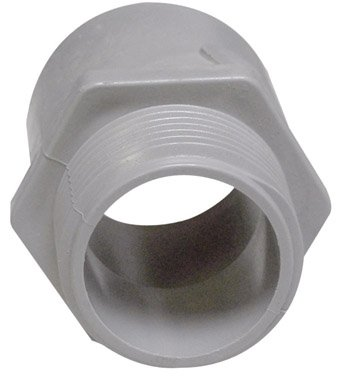 Cantex Industries 1/2' Pvc Term Adapter 5140103C Pvc Conduit Fittings Schedule 40 And 80