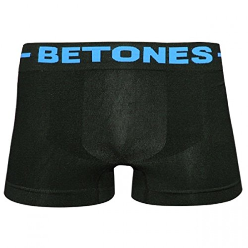 BETONES/ビトーンズ ボクサーパンツ SKID black×turquoise